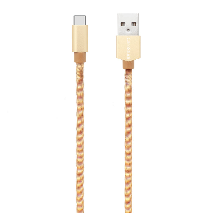 TYPE-C CABLE: COMBAT GOLD 1M