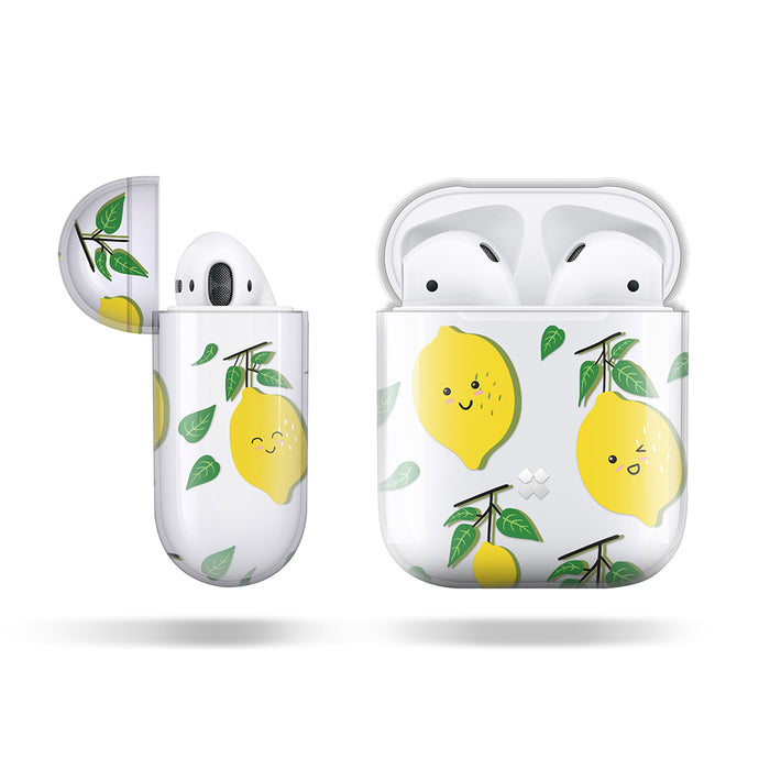 AIRPODS PRISMART CASE: LEMON