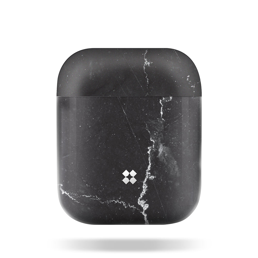 AIRPODS PRISMART CASE: MARBLE BLACK