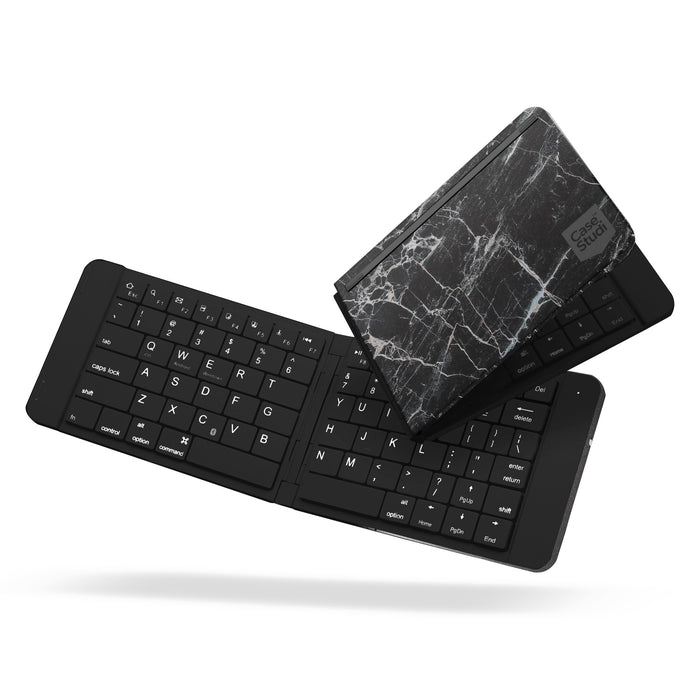 FOLDBOARD: FOLDABLE KEYBOARD (MARBLE BLACK)