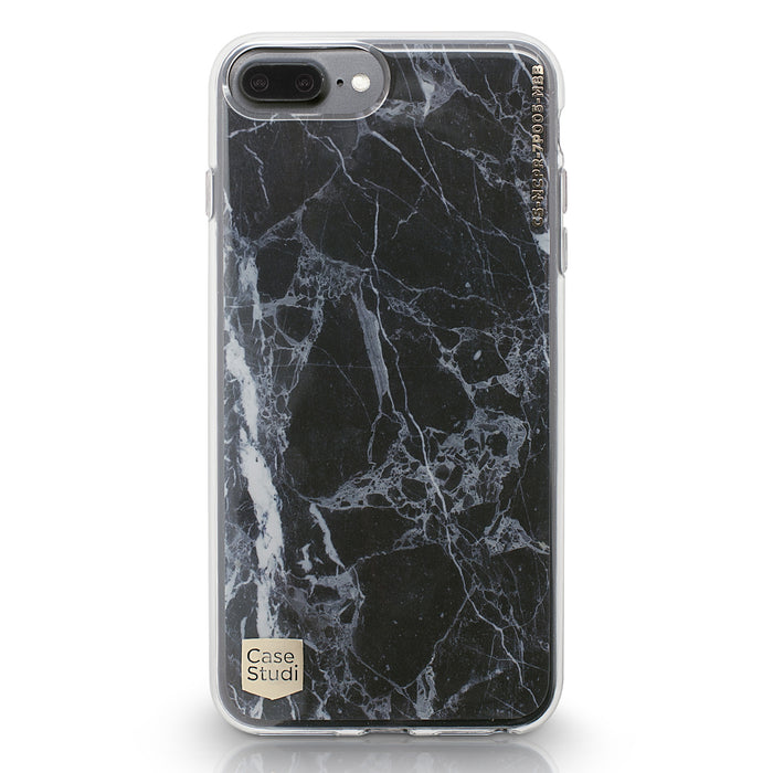 iPHONE 7 / 7 PLUS PRISMART CASE: MARBLE BLACK