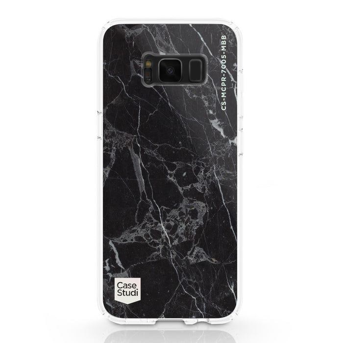 GALAXY S8 / S8 PLUS PRISMART CASE: MARBLE BLACK