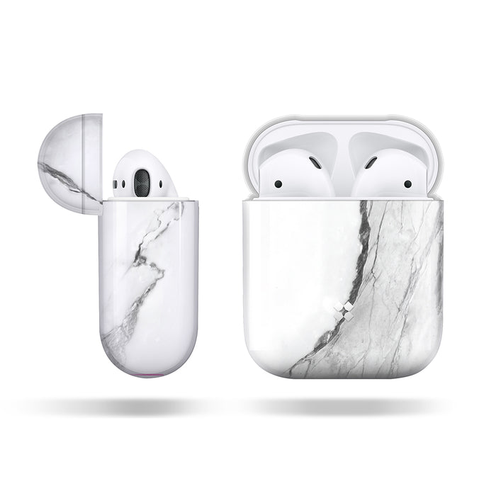 AIRPODS PRISMART CASE: MARBLE WHITE