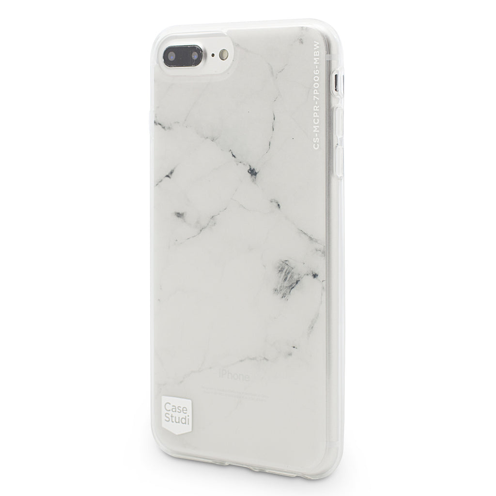 iPHONE 7 / 7 PLUS PRISMART CASE: MARBLE WHITE