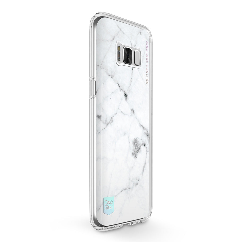 GALAXY S8 / S8 PLUS PRISMART CASE: MARBLE WHITE