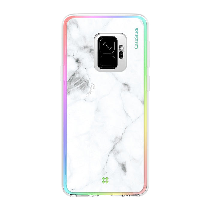 GALAXY S9 / S9 PLUS PRISMART CASE: MARBLE WHITE