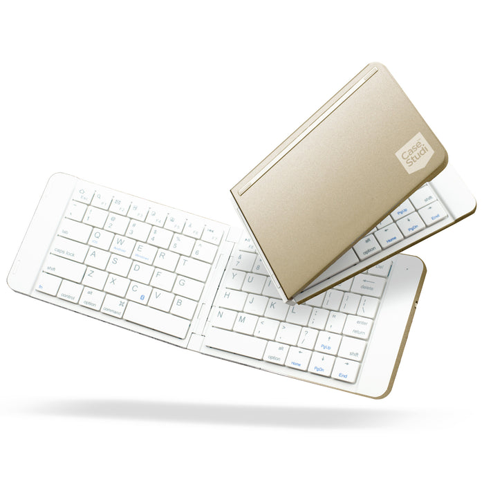 FOLDBOARD: FOLDABLE KEYBOARD (ALUMINIUM GOLD)