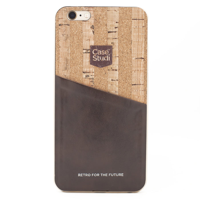 iPHONE 6/6S CONVERTIBLE BUMPER CASE: CORKWOOD BAMBOO