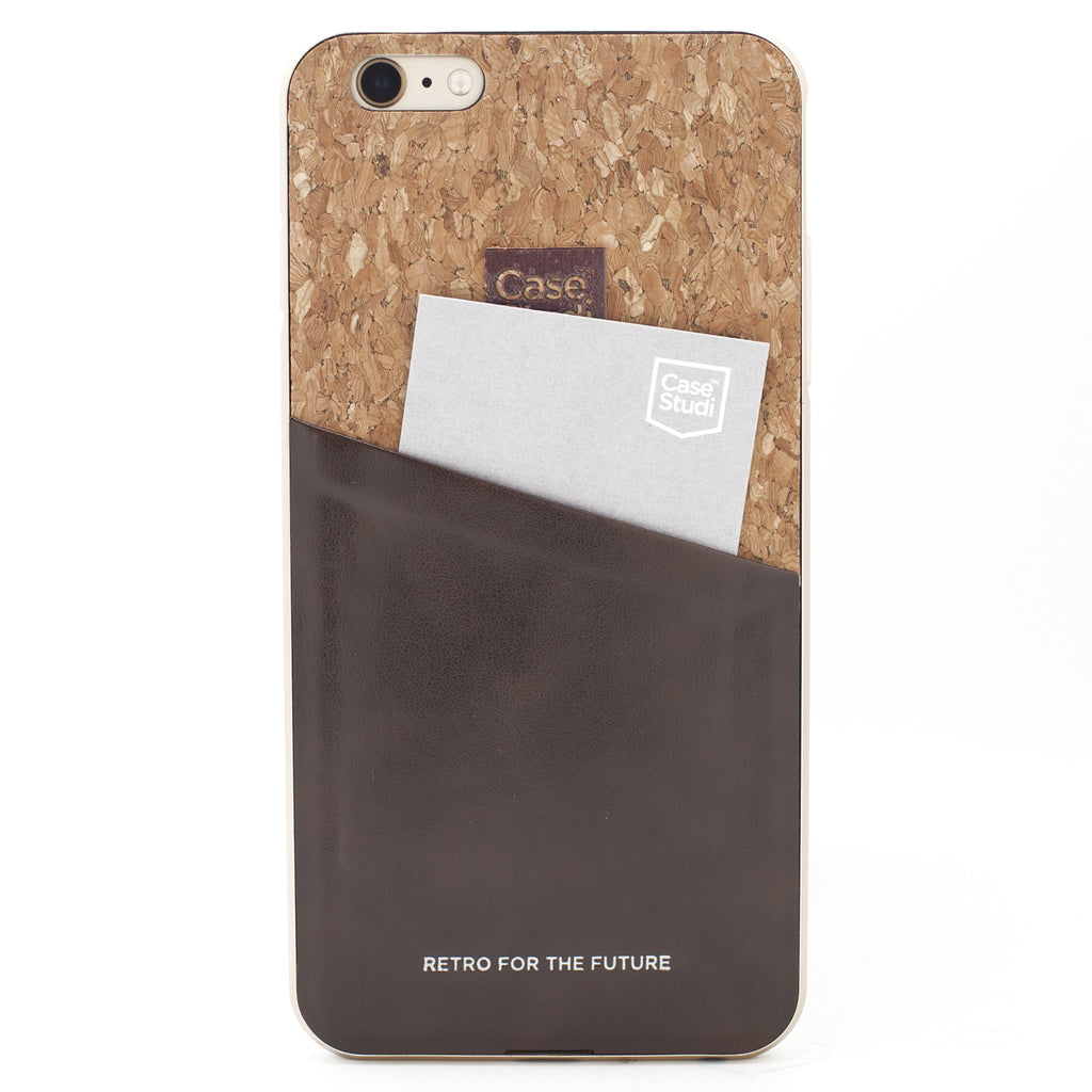 iPHONE 6/6S CONVERTIBLE BUMPER CASE: CORKWOOD FINE