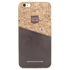 iPHONE 6/6S CONVERTIBLE BUMPER CASE: CORKWOOD MIX
