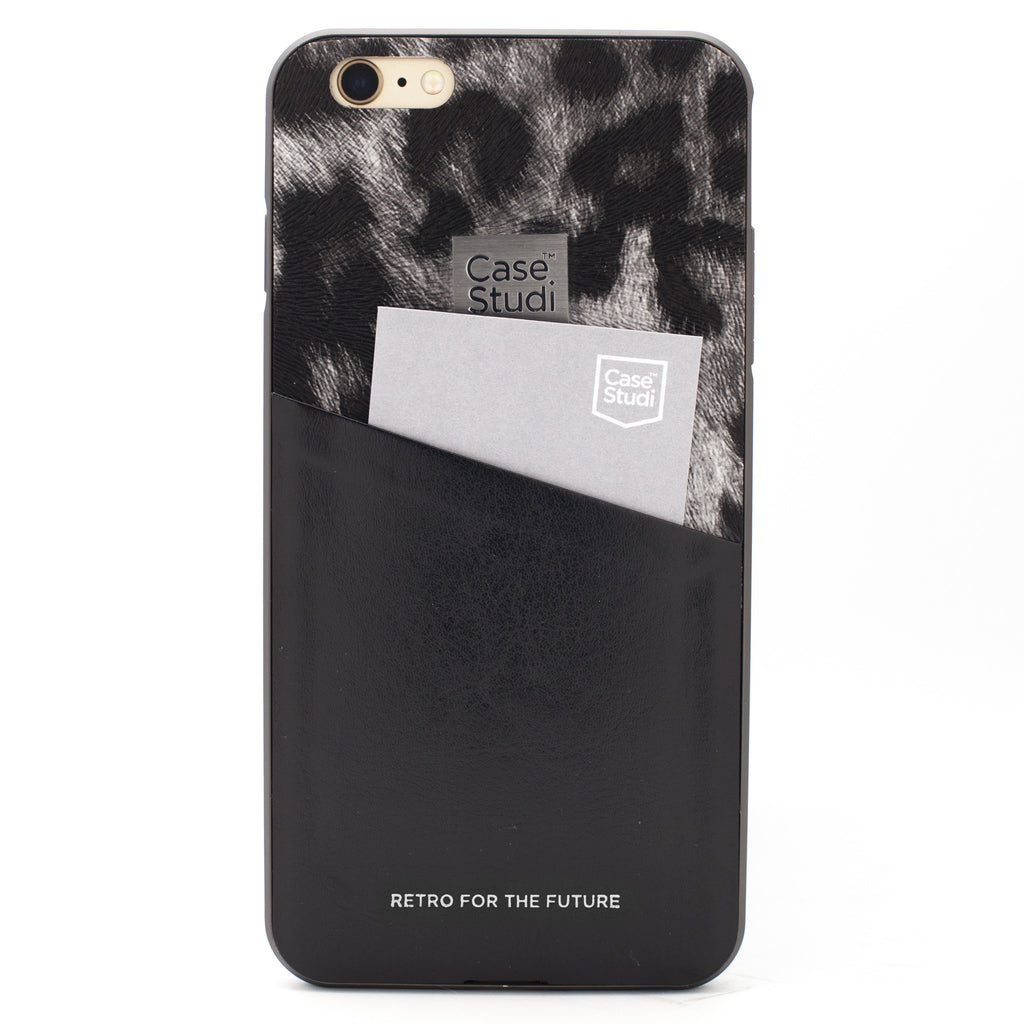 iPHONE 6/6S CONVERTIBLE BUMPER CASE: LEOPARD BLACK