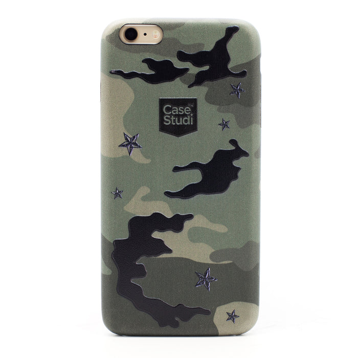 iPHONE 6S PLUS ULTRA SLIM CASE: CAMO GREEN