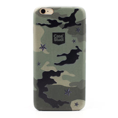 iPHONE 6 / 6S ULTRA SLIM CASE: CAMO GREEN