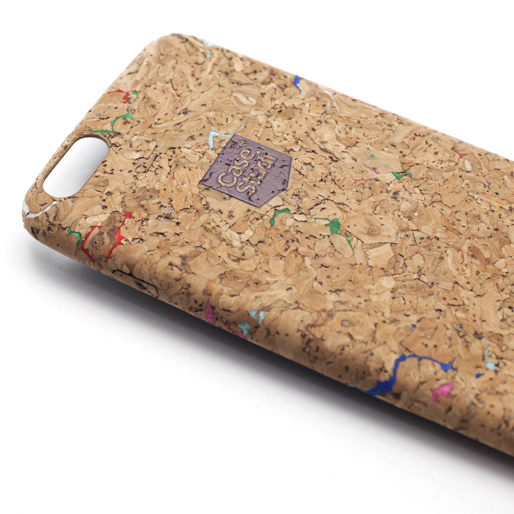 iPHONE 6S PLUS ULTRA SLIM CASE: CORKWOOD MIX