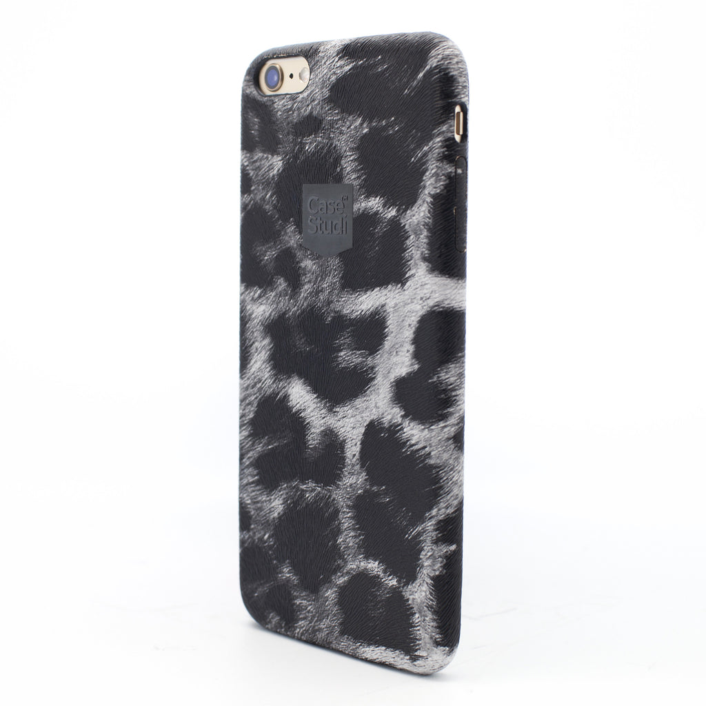 iPHONE 6 / 6S ULTRA SLIM CASE: LEOPARD BLACK