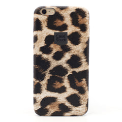 iPHONE 6 / 6S ULTRA SLIM CASE: LEOPARD BROWN