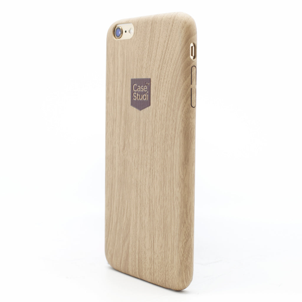 iPHONE 6 / 6S ULTRA SLIM CASE: WOOD BEIGE
