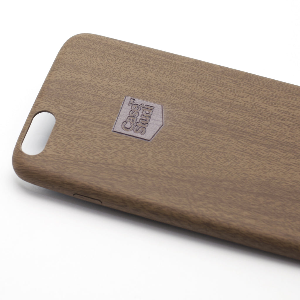 iPHONE 6S PLUS ULTRA SLIM CASE: WOOD BROWN