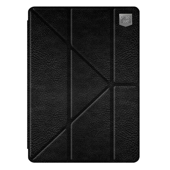 iPAD PRO (9.7 INCH) FOLDING CASE: LEATHER BLACK