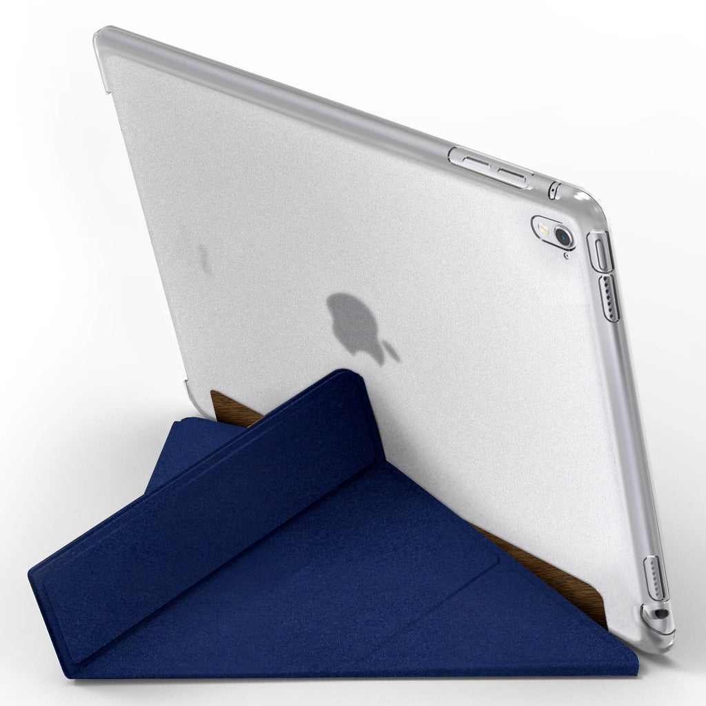 iPAD PRO (9.7 INCH) FOLDING CASE: WOOD BROWN