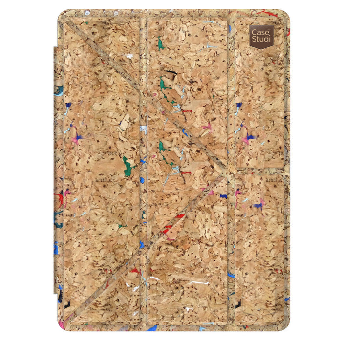 iPAD PRO FOLDING CASE: CORKWOOD MIX