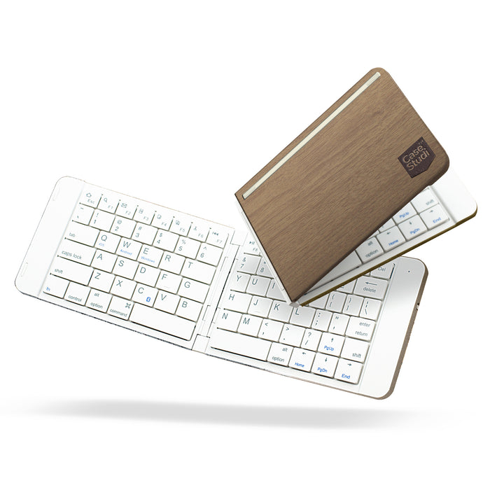 FOLDBOARD: FOLDABLE KEYBOARD (WOOD)