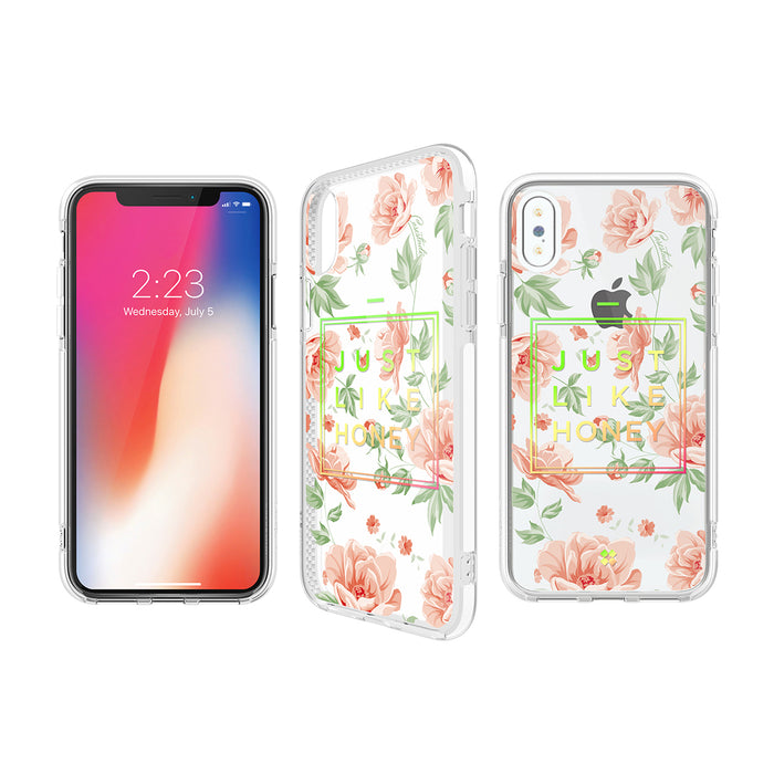 iPHONE X PRISMART IMPACT CASE: HONEY