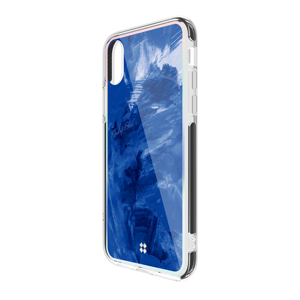 iPHONE X PRISMART IMPACT CASE: BLUE