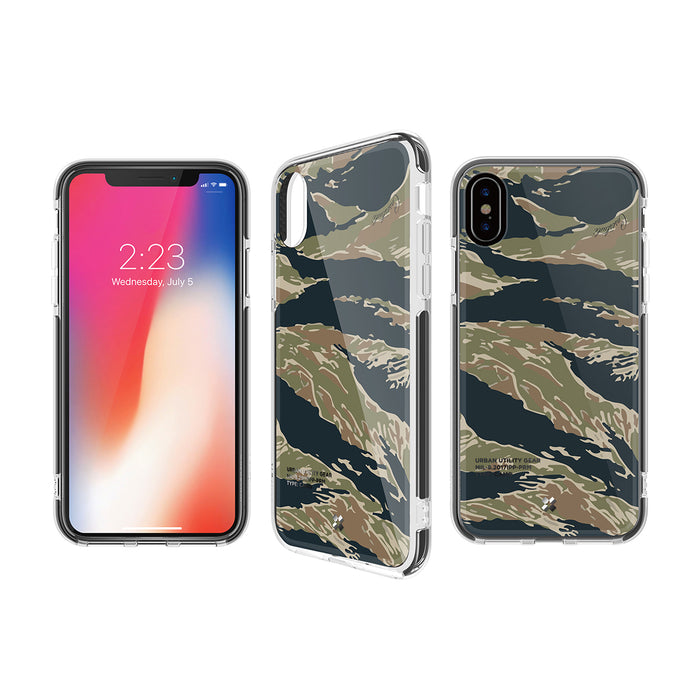 iPHONE X PRISMART IMPACT CASE: TIGER CAMO