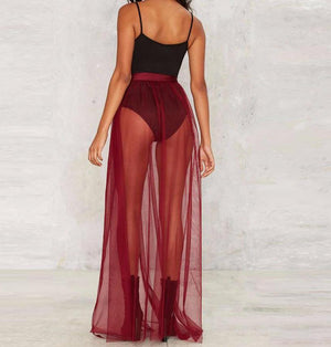 MOVE ME see through tule skirt