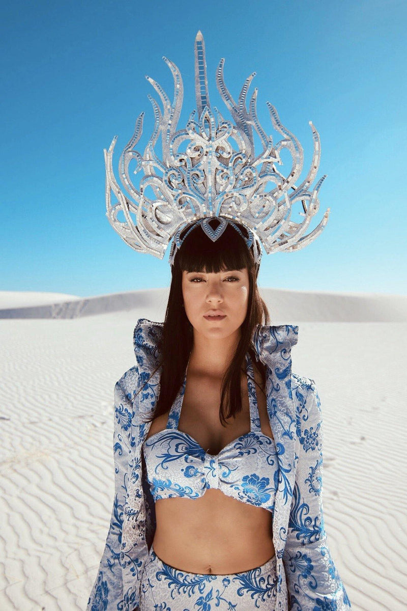 Astra Planeti Headpiece-Burning man essentials-Harmonia-burning man-burning man costumes-festival outfits-halloween costumes-Harmonia