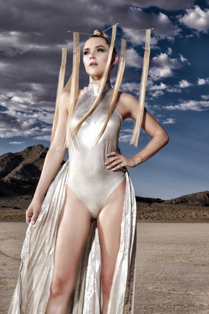 ATOMIKA one piece metallic catsuits-costumes-Harmonia-burning man-burning man costumes-festival outfits-halloween costumes-Harmonia