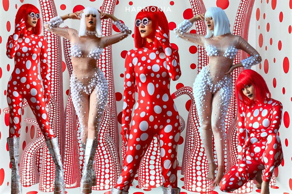 KUSAMA  INSPIRED COLLECTION bodysuit II