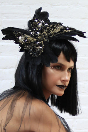 Butterfly effect headpiece
