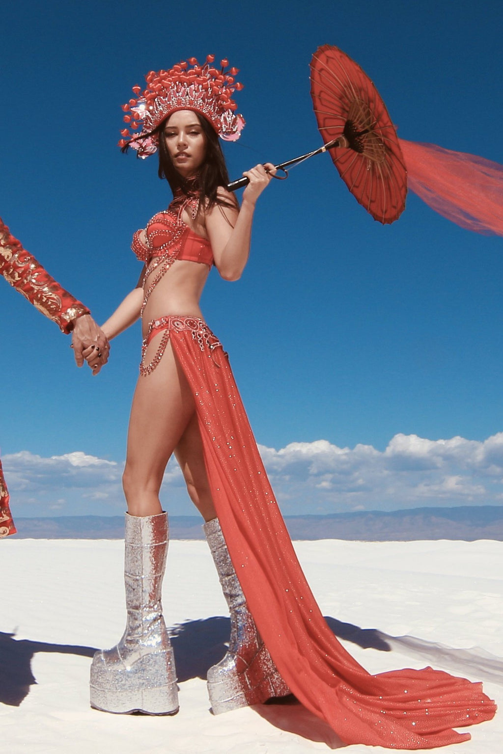 REDSHIFT FROM SINGULARITIES-Harmonia-burning man-burning man costumes-festival outfits-halloween costumes-Harmonia