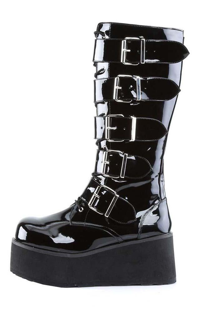 DELTA WARRIOR men's platform boots