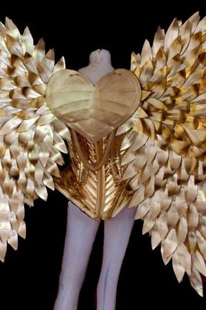 VIRGO CLUSTER galactic cupid outfit-costumes-Harmonia-burning man-burning man costumes-festival outfits-halloween costumes-Harmonia