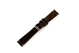 Vintage Style Watch Strap - Horween Chromexcel: Black