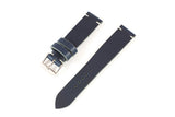 Vintage Style Watch Strap - Tochigi: Blue