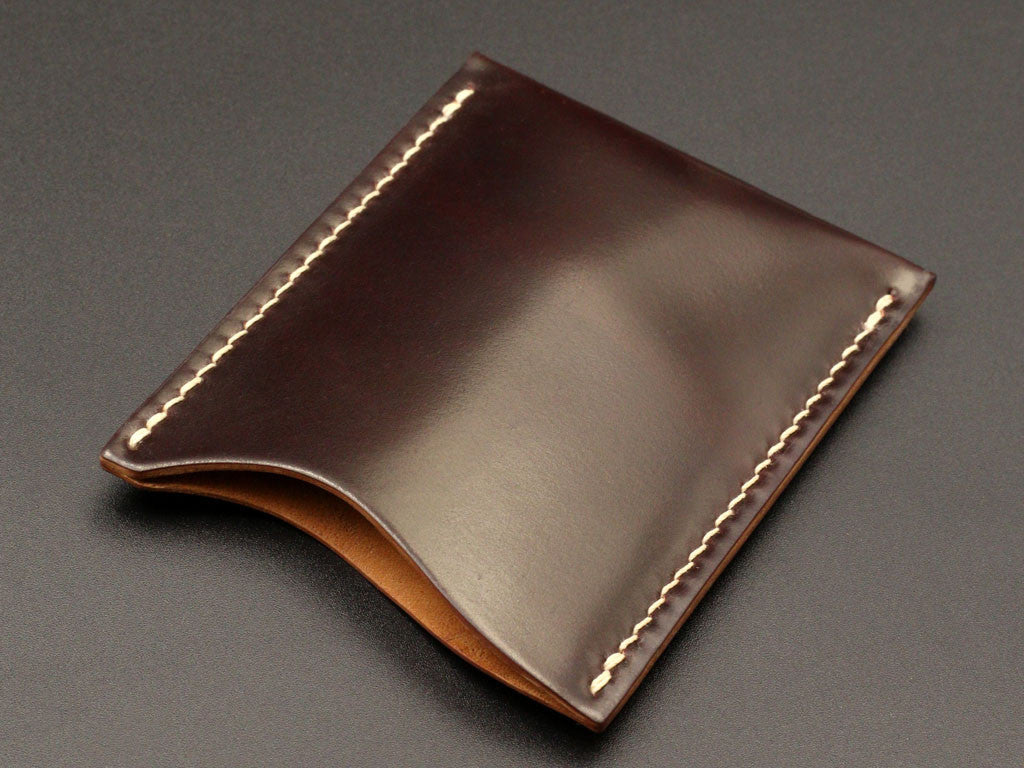 newest bb76c f759e Logan - Horween Shell Cordovan Thin Card Case