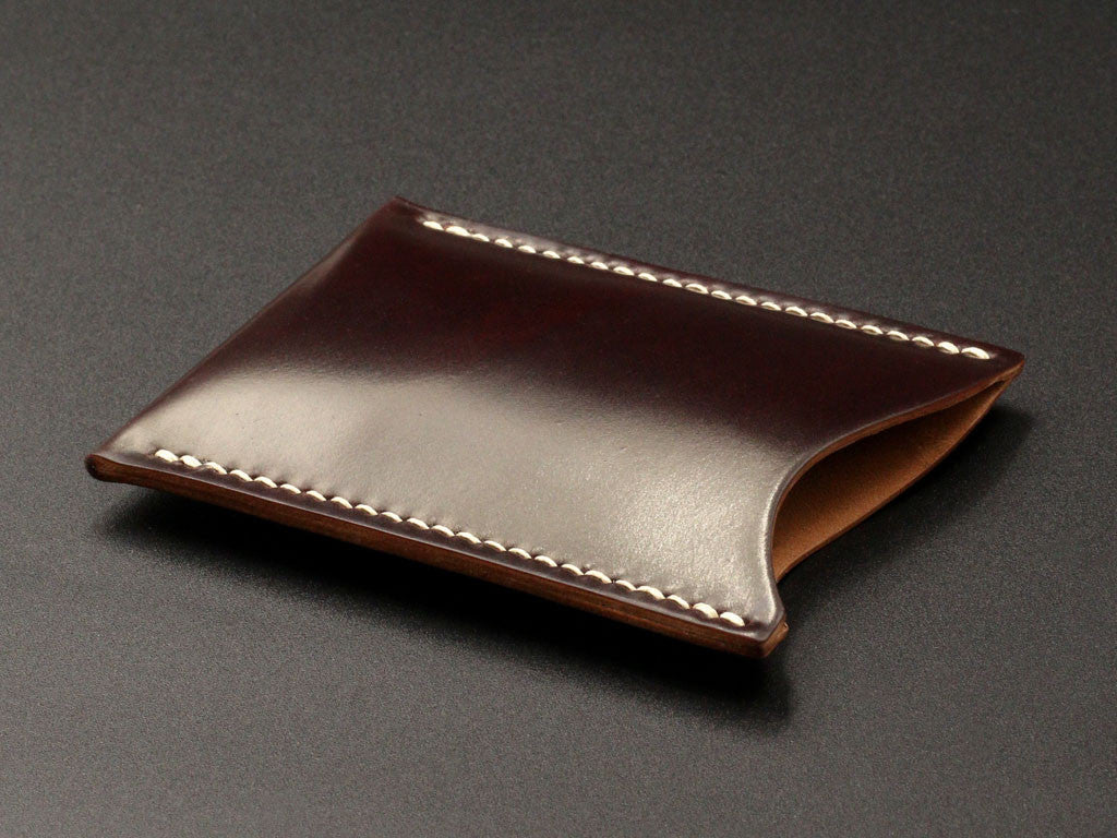 more photos e5aab 24edb Logan - Horween Shell Cordovan Thin Card Case – District Leather