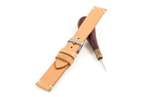 Vintage Style Watch Strap - Tochigi: Natural