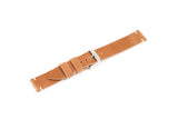 Vintage Style Watch Strap - Horween Shell Cordovan: Natural