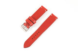 Vintage Style Watch Strap - Tochigi: Red
