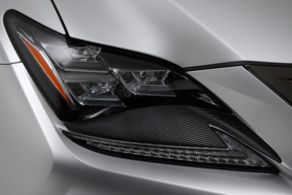 TOM'S Racing- Carbon Sheet (Headlight) for 2015+ Lexus RCF