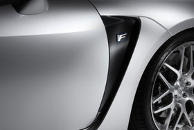 TOM'S Racing- Carbon Sheet (Front Fender) for 2015+ Lexus RCF
