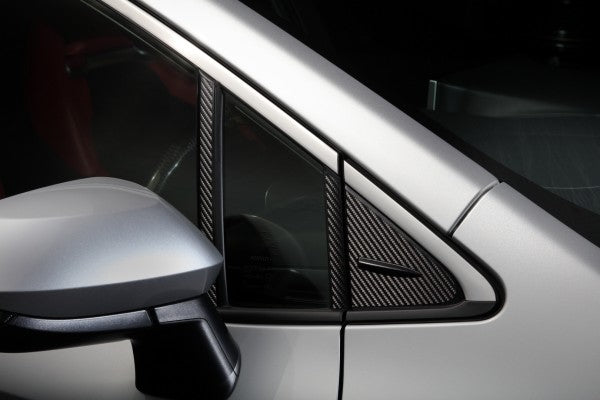 TOM'S Racing- Carbon Sheet (A-Pillar) for 2019+ Toyota Corolla Hatchback