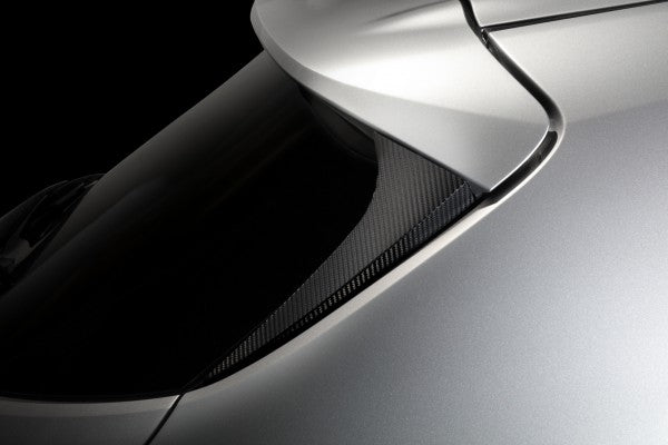 TOM'S Racing- Carbon Sheet (Trunk Roof Spoiler-Side Panel) for 2019+ Toyota Corolla Hatchback