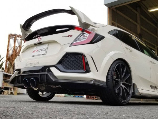 N1-X Evolution Extreme Catback Exhaust- 2017+ Honda Civic Type-R [FK8]