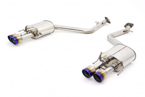 N1-X Evolution Extreme Axleback Exhaust - 2013+ Lexus GS350